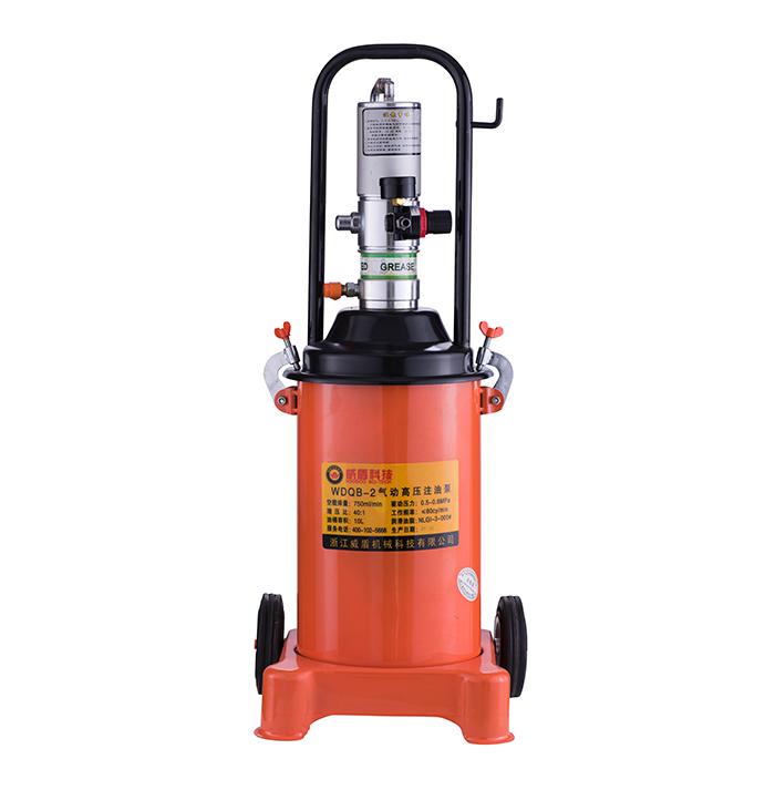 WDQB-2 pneumatic high pressure oil injection pump