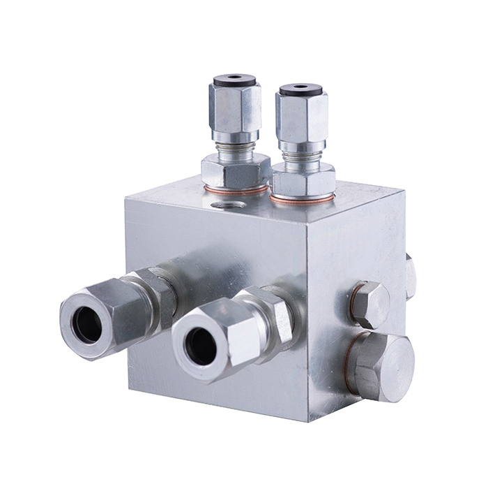 RZ-2 two-line distributor (lubrication center)
