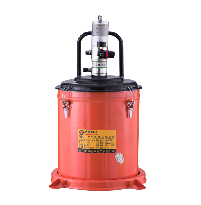 WDQ-3 pneumatic high pressure oil injection pump