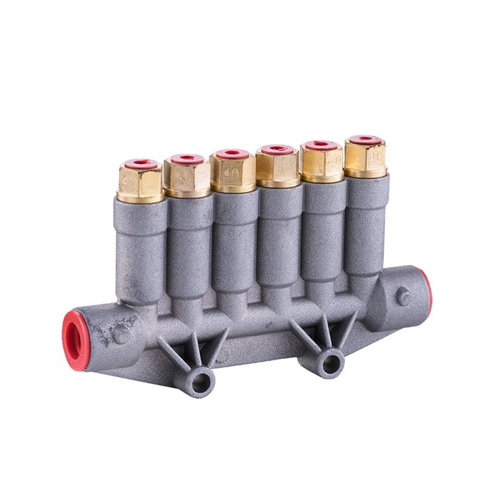 WDF pressure relief distributor