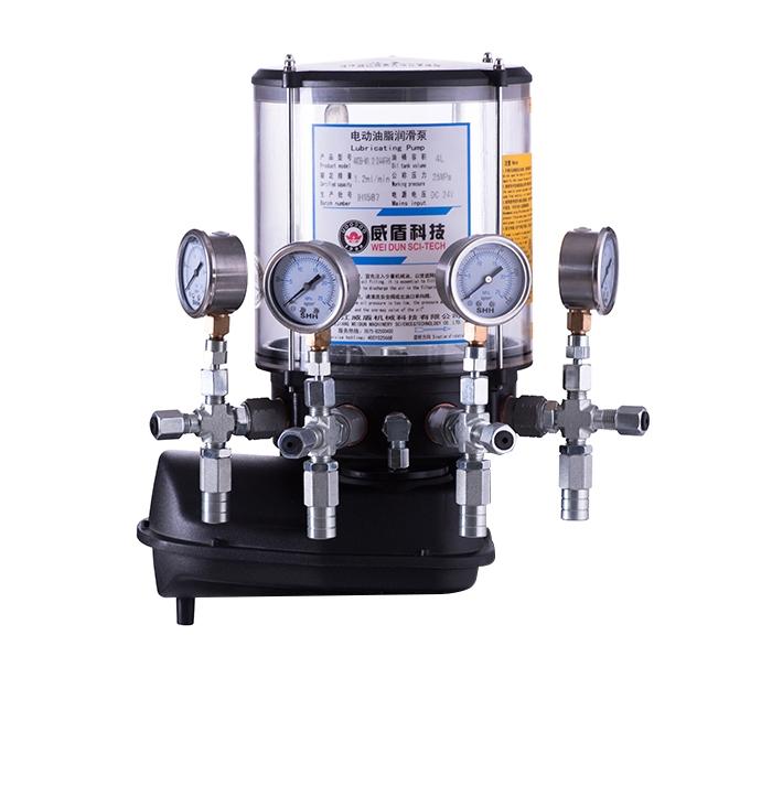 4WDB-M electric grease lubrication pump