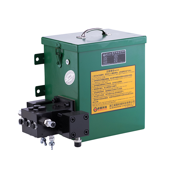 RHX-D hydraulic grease lubrication pump (paint bucket)