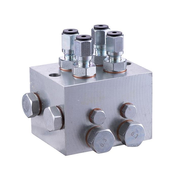 RZ-4 two-line distributor (lubrication center)