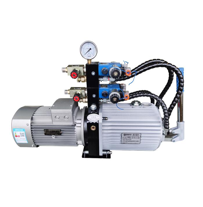 WDKM3 series double valve hydraulic station