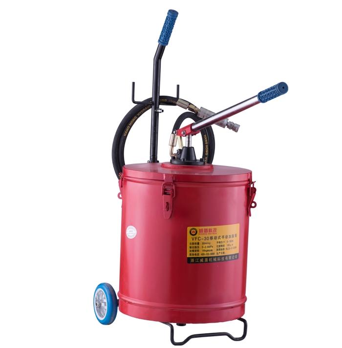 VFC-30 mobile manual grease pump